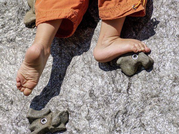 pied enfant